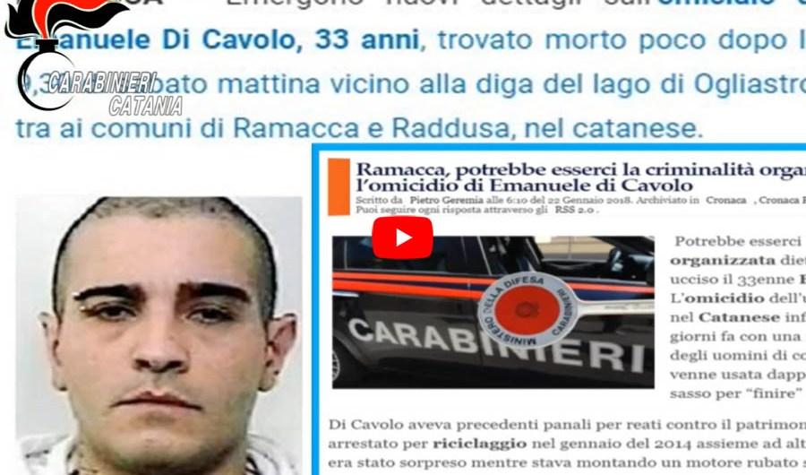 Paternò. Omicidio di Emanuele Di Cavolo: due arresti