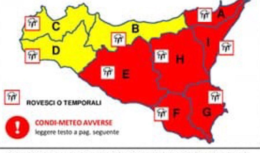 Allerta meteo. L'elenco dei comuni dove le scuole saranno chiuse