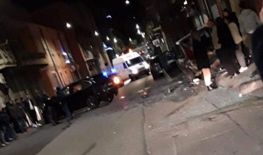 Adrano. Grave incidente in via Catania