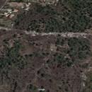 La discarica di Contrada Vignale visibile su Google map