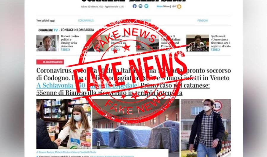 Coronavirus. La notizia di un biancavillese in terapia intensiva per il virus è una fake news