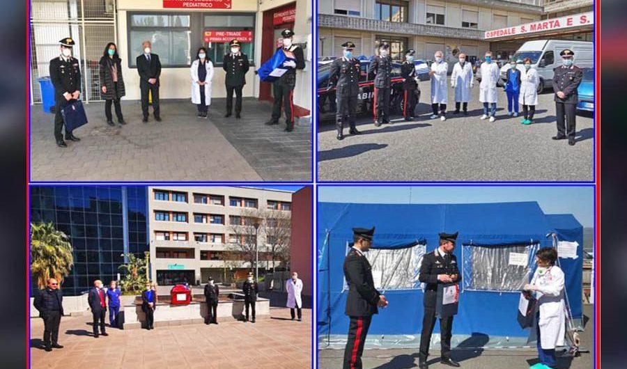 Catania e provincia: Carabinieri regalano le uova di Pasqua ai bambini ricoverati in Pediatria