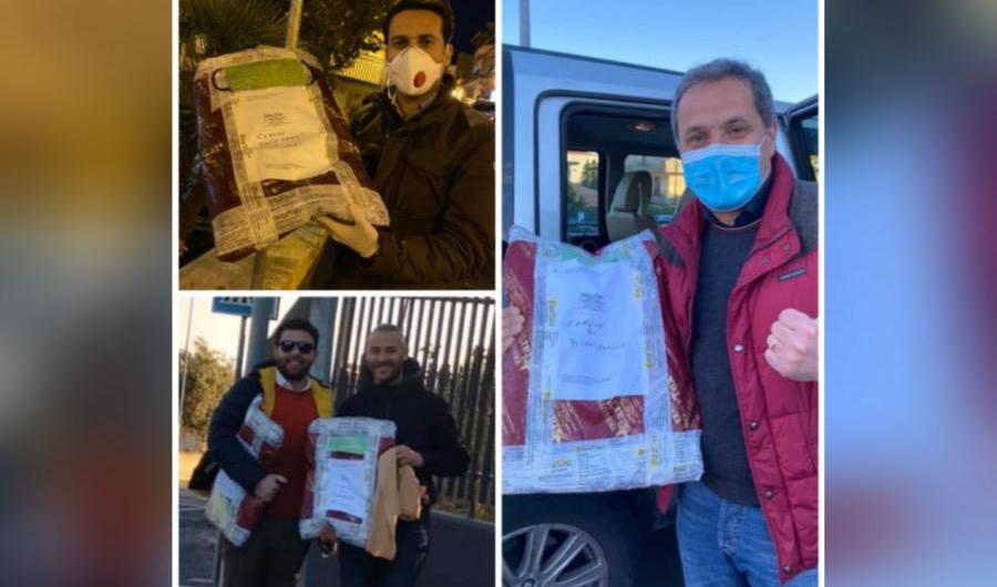 Coronavirus. Azienda dona tessuti per mascherine ai comuni di Biancavilla, Ragalna e Licodia