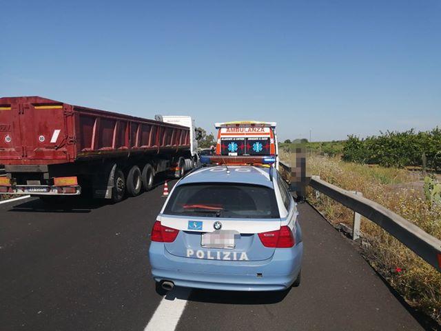 A19. Incidente tra Motta Sant'Anastasia e Gerbini