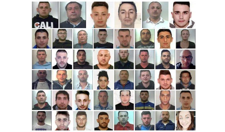 Catania: duro colpo al clan Brunetto, 46 arresti