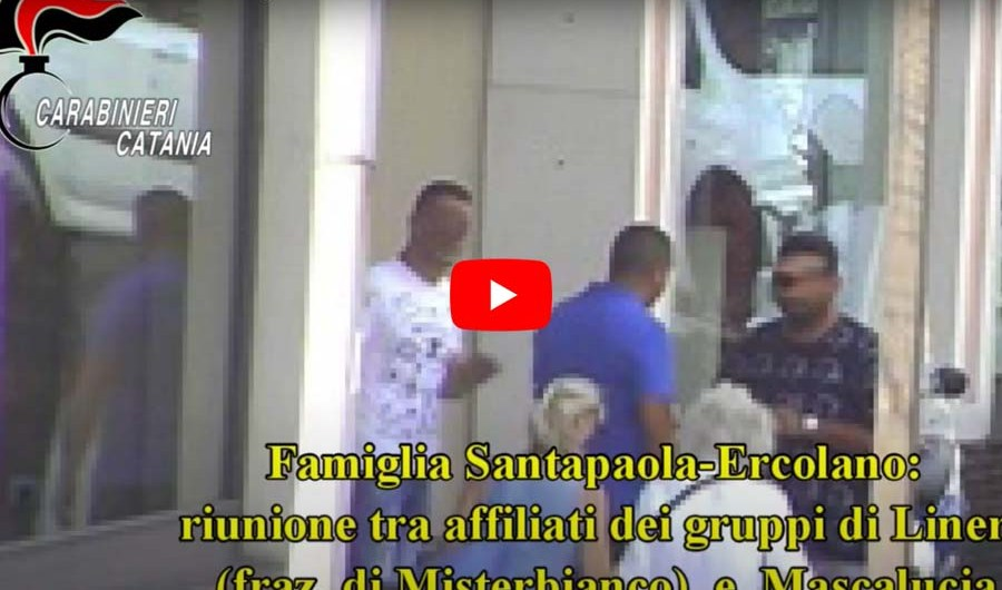 """Mascalucia, operazione antimafia """"Malupassu"""", disarticolato il clan Santapaola-Ercolano"""