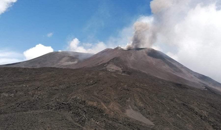 Etna. Prosegue l'attività all'interno del Nuovo Cratere di Sud-Est
