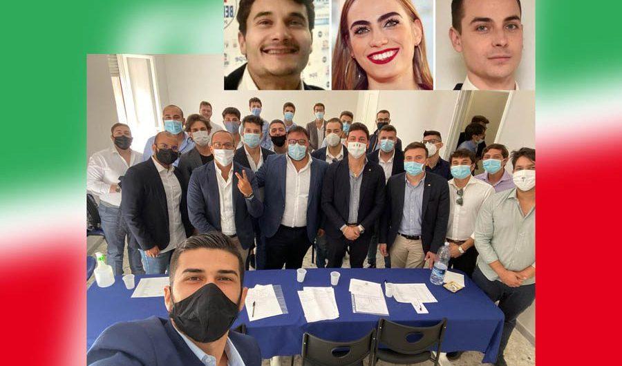 Catania. Tredici nuove nomine per Forza Italia Giovani