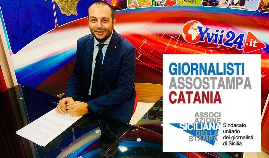Minacce al cronista Luca Crispi. Solidarietà di Unci e Assostampa Catania
