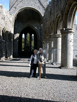 John and Yvonne in Ireland