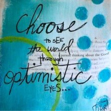 optimistic eyes