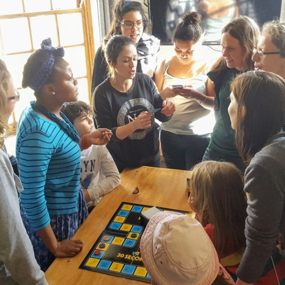 Fun and games during our recent base social