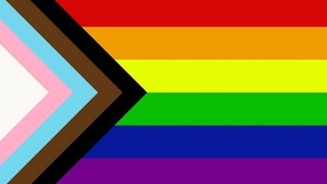 inclusive pride rainbow flag