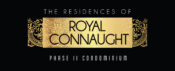 The residences of Royal Connaught logo