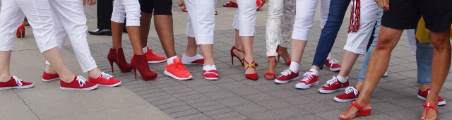 walk a mile in her shoes team