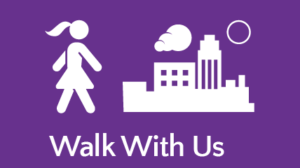 Walk with us button