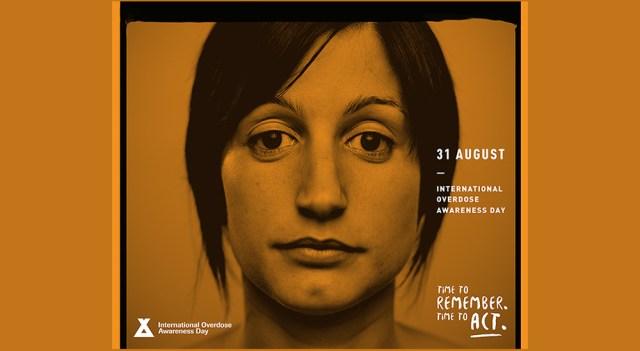 international overdose day poster