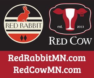 Red Cow and Red Rabbit logos