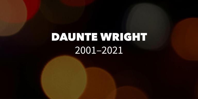 Daunte Wright 2001-2021