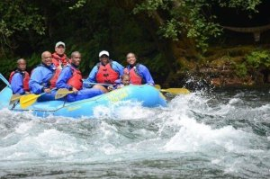 Liesl Kistow rafting