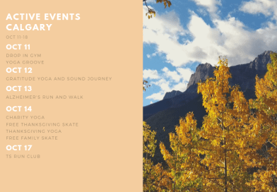 Active Events in Calgary Oct 11-18