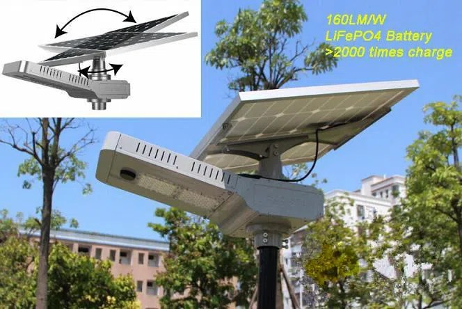 solar led outdoor street light with microwave motion sensor and adjustable solar panel all in one solar led street light solar roadway light 20w 30w 40w 50w manufacturers china wholesale price yozeal