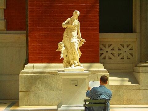 NY- European Sculpture Court- Metropolitan Museum of Art