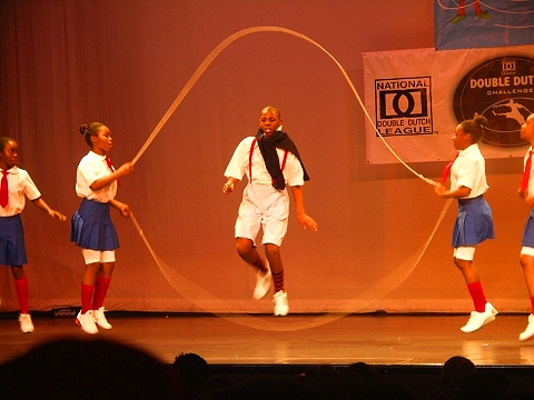 NY- Harlem- Apollo Theater- 16th Annual Double Dutch Holiday Classic