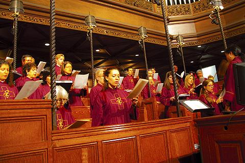 Image result for choir in choir loft
