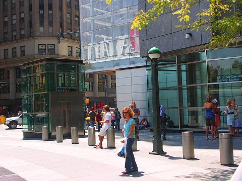 NY- Time Warner Center- Gateway to the Upper West Side