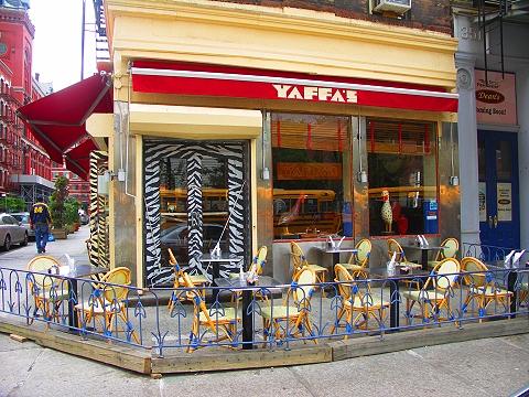NY- Tribeca- Storefronts, Signs and Windows-Yaffa's