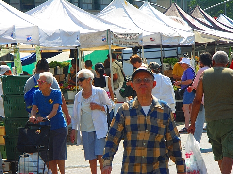 NY- Union Square- Greenmarket-Farmers market- cenyc