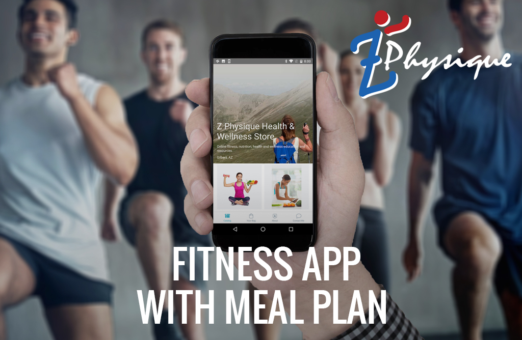 fitness app with meal plan