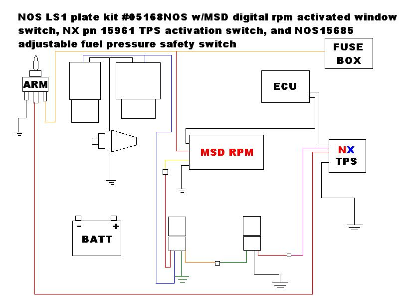 Stupendous Stage 1 Nitrous Window Switch Wiring Diagrams Msd Digital Wiring Wiring Digital Resources Remcakbiperorg