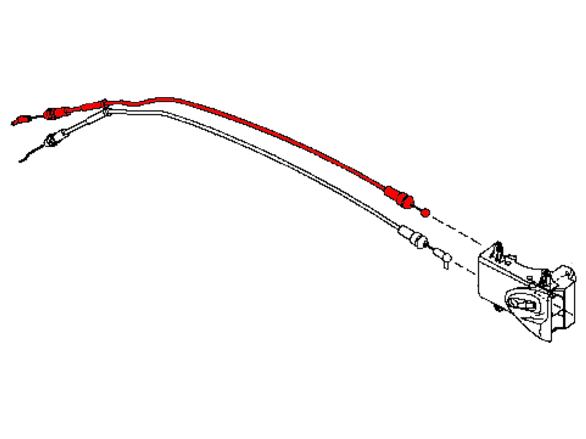 Oem 350z Interior Door Handle Cable Performance Oem And