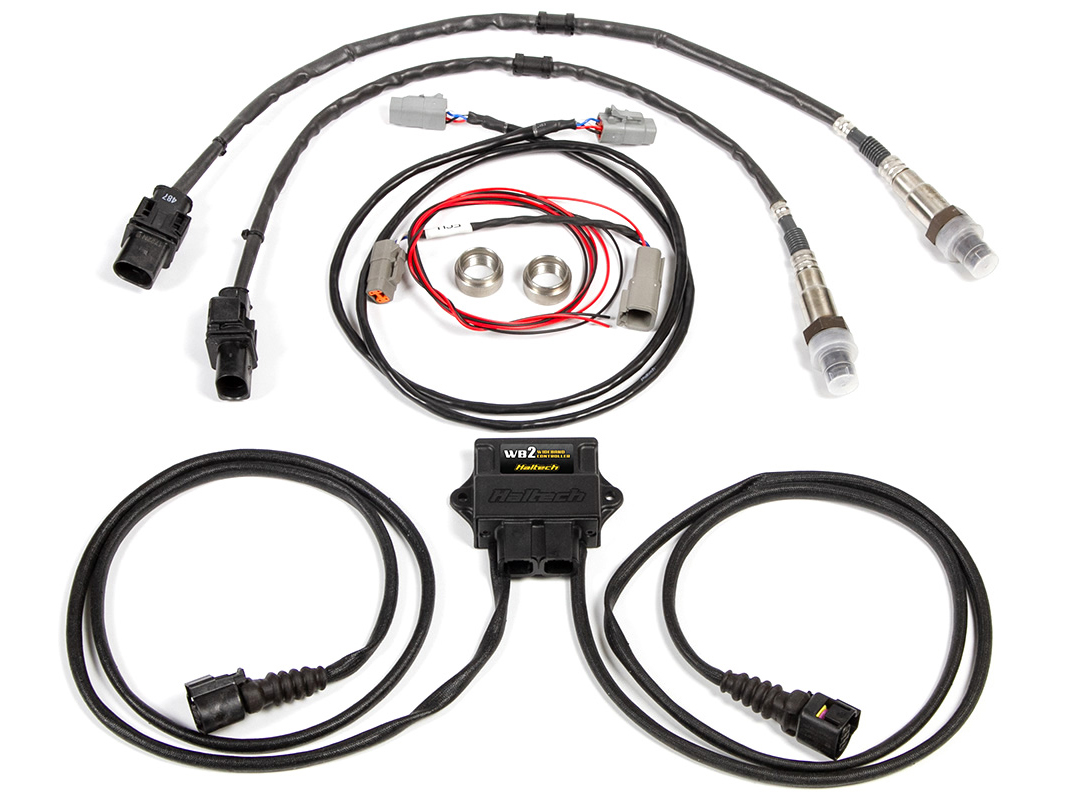Haltech Dual Channel Can Wideband O2 Controller Kit
