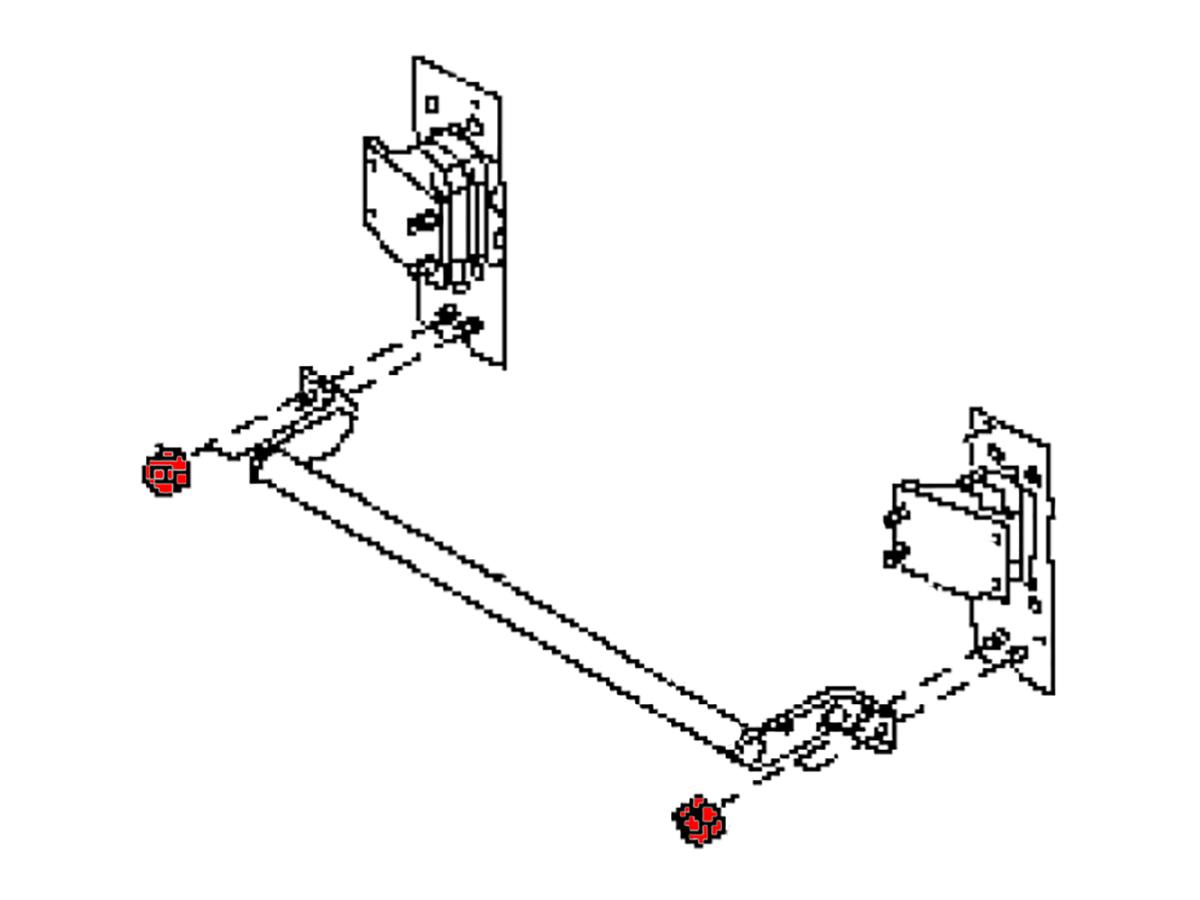 Oem Fx35 Fx45 Front Reinforcement Impact Bar Nut Z1