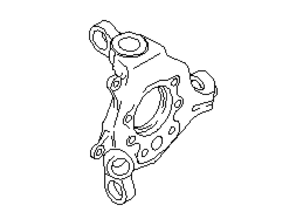 Oem Fx35 Fx45 Rear Spindle Knuckle Z1 Motorsports
