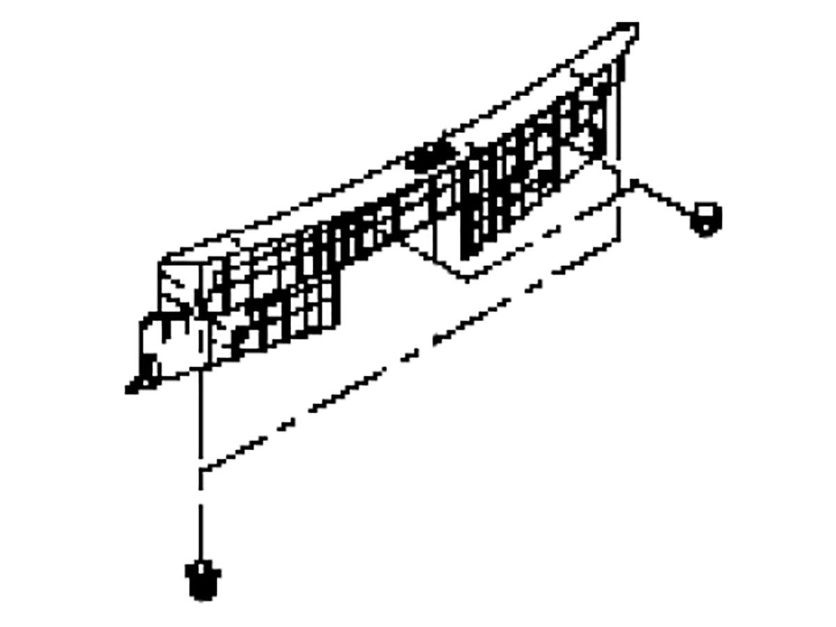 Oem 17 Q60 Rear Trunk Trim Assembly