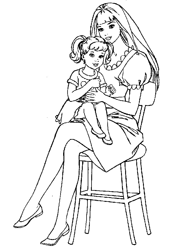 barbie coloring pages 2016 z31 coloring page