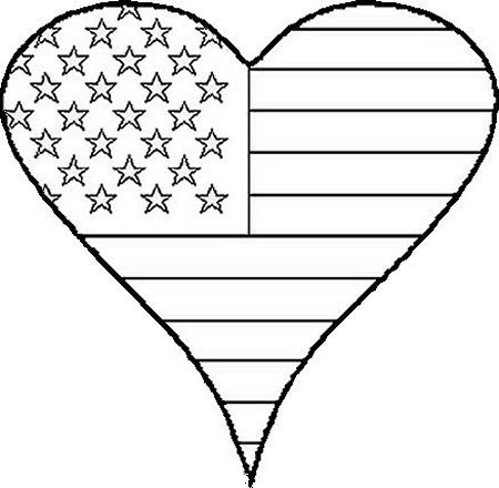flag day coloring 2016 z31 coloring page