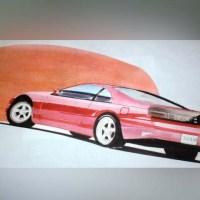 フェアレディZ Z32のイラスト(写真)