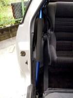 Z32 自作サイドピラーバー取り付け完了 写真
