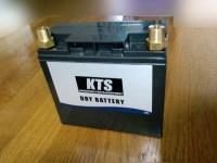 新品KTSドライバッテリー写真