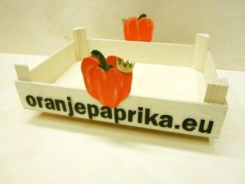 Kist voor paprika's