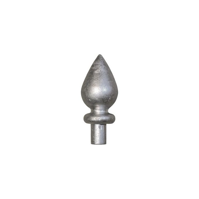 pointe fer de lance alu goutte d eau aluminium www zabarno com