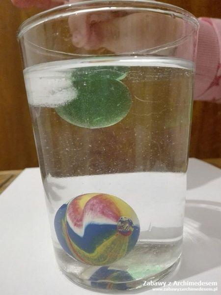 eksperyment z lodem