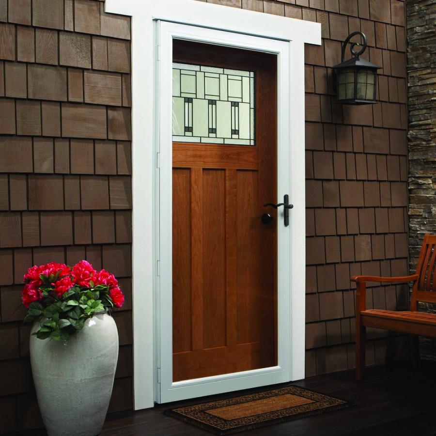 Andersen Storm Door 36 Quot X 80 Quot Fixed Safety Glass 10