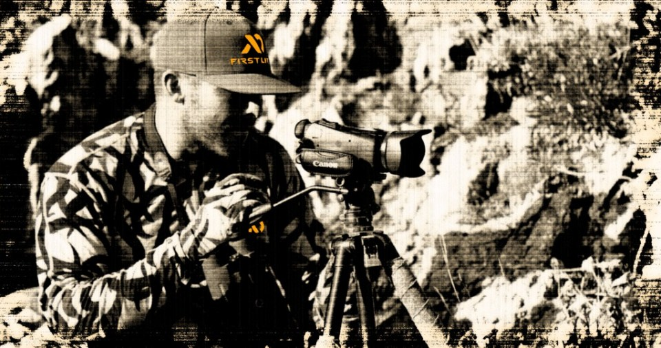 ZAC GRIFFITH FILMS WHILE HUNTING