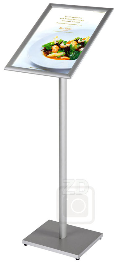 11x17 and 17x11 sign stand info board